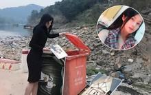 Người ta đi thả cá ngày 23 tháng Chạp còn cô gái này đi thả... ảnh cưới vào thùng rác