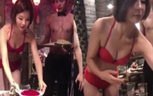 Nhà hàng lẩu thuê người mẫu bikini nóng bỏng giữa trời đông lạnh giá để hút khách