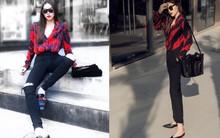 Nhìn bộ đồ của Kỳ Duyên và Hà Hồ lại hao hao nhau đến lạ trong street style tuần này