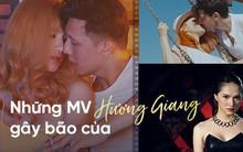 Trước khi là Hoa hậu, Hương Giang đã từng gây bão dư luận với loạt MV này
