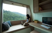 Căn hộ 47m² của đôi vợ chồng trẻ được tối đa hóa không gian nhờ bài trí những khung cửa sổ thật thông minh