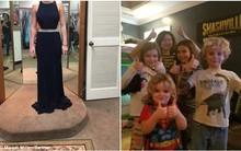 Cô gái chụp ảnh mặc váy sang trọng rồi gửi nhầm cho ông bố 6 con, phản ứng của anh khiến cộng đồng mạng
