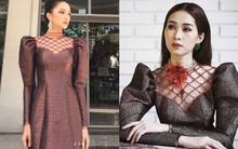 Hương Giang và 2 nàng Hoa hậu khác cùng so bì nhan sắc trong 1 thiết kế váy, và kết quả đúng là