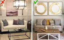Những ý tưởng thiết kế nội thất rất nhiều người sử dụng nhưng không hiệu quả