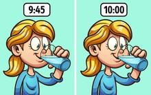 5 thời điểm uống càng nhiều nước càng có hại cho sức khỏe mà bạn chưa chắc đã biết