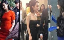 Vóc dáng Phạm Băng Băng - Angela Baby - Triệu Lệ Dĩnh qua ảnh fan chụp: Người lộ bụng ngấn mỡ, kẻ vòng ba
