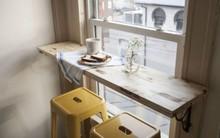 Những góc ăn sáng nhỏ xinh trong căn bếp hẹp