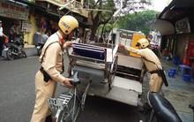 Hà Nội: Tiếp tục ra quân dẹp vỉa hè, phương tiện đỗ sai quy định