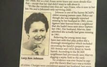 Người phụ nữ 52 năm biến mất không dấu vết, cảnh sát nghi bị chồng sát hại nhưng một mẩu tin nhỏ lên báo chí đã trả lời tất cả