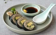 Bữa trưa lạ miệng với mì cuộn rong biển