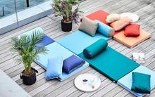 Tham khảo cách phối hợp màu sắc giữa những chiếc ghế nệm ngoài trời siêu đẹp, cực trendy
