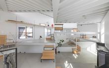Ngôi nhà nhỏ 2 tầng nhưng có tới 13 không gian riêng nhờ thiết kế thông minh và ấn tượng của KTS người Nhật