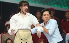 Mặc scandal tình ái, Trường Giang vẫn tươi tỉnh đi quay gameshow với Hari Won