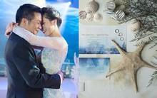 Cận cảnh đám cưới kỳ công xanh màu đại dương của Shark Hưng (Thương vụ bạc tỷ) và cô dâu Á hậu