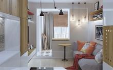 Không gian sống lý tưởng trong hai căn hộ có diện tích chưa đến 20m²