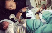 Hot mom Hằng Túi chia sẻ tâm thư của người chồng gửi cho vợ đã qua đời trong phòng sinh khiến chị em rơi nước mắt