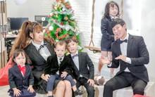 Gia đình Lý Hải - Minh Hà nhí nhảnh hết cỡ trong nhạc phim