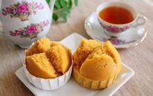 Cuối tuần đãi cả nhà bánh muffin hấp thơm ngon đặc biệt