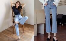 4 lưu ý giúp bạn diện quần jeans ống vẩy