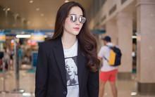 Sau scandal tình ái với Trường Giang, Nam Em bất ngờ xuất hiện xinh đẹp tại sân bay