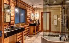 Ngắm những phòng tắm Rustic mộc mạc nhưng chẳng chút lỗi thời