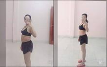 Vòng eo giảm từ 85cm xuống 65cm sau 2 tháng, đây là cách giảm cân sau sinh siêu đẳng của bà mẹ trẻ