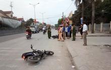 Nghệ An: Bị container cán trúng sau khi ngã xuống đường, 3 nam sinh thương vong