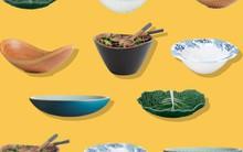 10 mẫu bát salad đẹp ngất ngây do các nhà thiết kế bình chọn