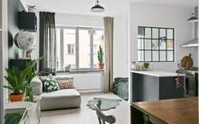 Khám phá cách cải tạo căn hộ tuy nhỏ nhưng lại đem lại vẻ thoải mái và tiện dụng cho cả gia đình