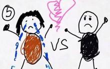 Xúc động nghẹn ngào trước bộ tranh nguệch ngoạc do cậu bé 6 tuổi vẽ lại toàn bộ quá trình li hôn của bố mẹ