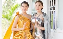 Sau tin đồn yêu Chiêm Quốc Thái, Kỳ Duyên xuất hiện rạng rỡ bên Lệ Hằng