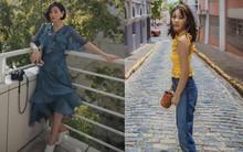 Các quý cô châu Á thi nhau khoe chân dài, eo thon trong loạt street style đầu hè
