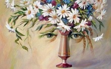Bạn nhìn thấy cô gái hay bình hoa, điều đó sẽ tiết lộ bạn hành động theo bản năng hay lý trí