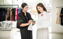 Hoa hậu Ngọc Hân chăm chút cho bạn thân đi thi Hoa hậu
