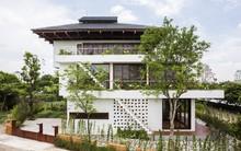 Ngất ngây với vẻ đẹp của ngôi nhà 3 tầng đậm chất kiến trúc Nhật Bản ở Vĩnh Phúc