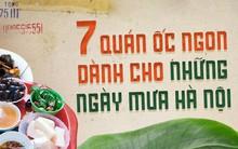 Buổi tối mát trời thì tranh thủ rủ nhau đi ăn ốc thôi, có cả list quán ở Hà Nội rồi đây