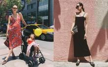 Các mẹ bầu phải học ngay cô nàng Chriselle Lim cách diện đồ thoải mái mà vẫn thời trang trong những ngày hè oi nóng