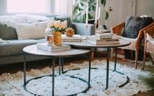 Những kiểu bàn cà phê lạ mắt điểm tô nét độc đáo cho phòng khách