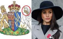 Điểm bất thường trên huy hiệu mới đại diện cho Công nương Meghan khiến nhiều người giật mình