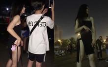 Cô gái bất ngờ nổi tiếng trên MXH vì diện đồ hở quá táo bạo khi đi quẩy nhạc hội có Martin Garrix