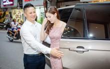 Ông xã điển trai của Hoa hậu Phí Thùy Linh đích thân tháp tùng vợ