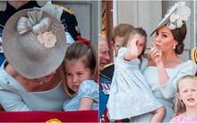 Cách công nương Kate dỗ con nín khóc trước chỗ đông người được khen hết lời