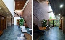 Ngôi nhà có mặt tiền gạch mộc