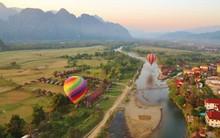 Vang Vieng - điểm du lịch nghe tên cũng đã thấy an yên, lại rất gần Việt Nam