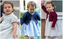 Lý do trang phục của Công chúa nhỏ Charlotte lúc nào cũng