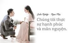 Tình yêu đong đầy yêu thương từ những câu nói tận đáy lòng của bà xã Ngọc Mai dành cho