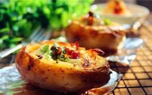 Bữa sáng không thể ngon hơn với món khoai tây nướng trứng thơm phức