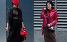 Tuần đầu tiên của năm mới, các quý cô thi nhau dạo phố với style chất khỏi bàn
