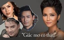 Phản ứng bất ngờ của sao Việt khi lần đầu tiên một cô gái dân tộc thiểu số đăng quang Hoa hậu quốc gia