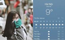 Hình ảnh được chia sẻ nhiều nhất ngày hôm nay: Bảng báo nhiệt độ tụt xuống số 9, Hà Nội lạnh teo